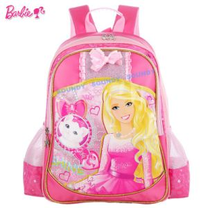 Barbie Style Handable Student Shoulder Bag/Backpack/Schoolbag