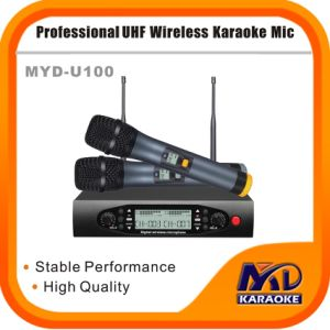 Professional Multi-Channels Wireless Karaoke Microphone pictures & photos