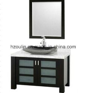 Solid Wood Bathroom Vanity (BA-1142) pictures & photos