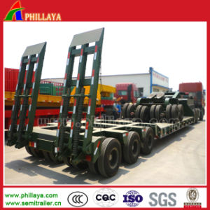 Multi Axis 100-150 Tons Semi Truck Low Bed Trailer pictures & photos
