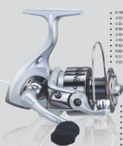Big Drag Power Spinning Fishing Reel pictures & photos