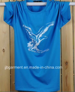 New Design Men Summer Printing T-Shirt with Cotton Fabric