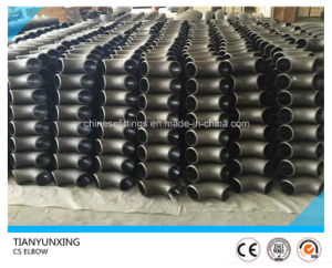 JIS B2311 90 Degree Seamless Elbow Carbon Steel Pipe Fitting pictures & photos