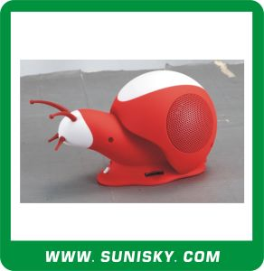 Snail Design Mini Speaker pictures & photos