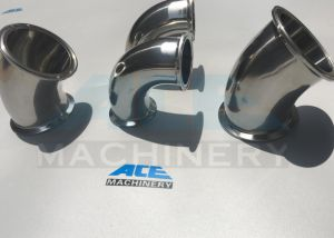 Seamless Stainless Sanitary Pipe Fittings 90degree Elbow (ACE-WT-J8) pictures & photos