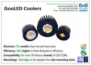 18W Aluminum Passive Cold Forging LED Heatsink for All Branded LEDs pictures & photos