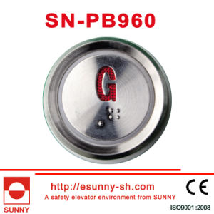 Elevator Braille Push Button (SN-PB960) pictures & photos