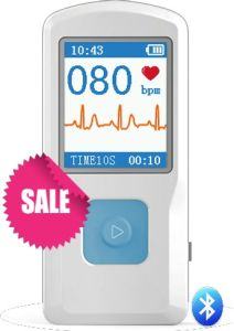 Ce/FDA Portable ECG/EKG Machine with Bluetooth pictures & photos