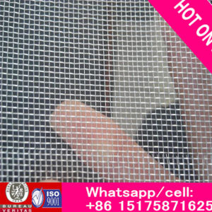ISO9001 Factory Epoxy Resin Coated Aluminum Wire Mesh/ Black Window Screen Wire Netting Insect Netting pictures & photos