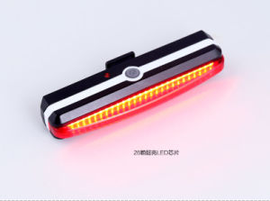 COB 6 Modes LED Rear Tail Warning USB LED Bike Light pictures & photos