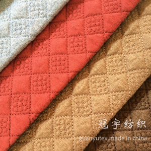 Decorative Home Sofa Fabrics with Quilt Treatment pictures & photos