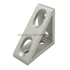 4545s Aluminum Extrude 4 Hole Inside Angle Corner Bracket Gusset pictures & photos