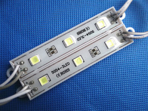 5054 3chips Waterproof LED Module with Epistar pictures & photos
