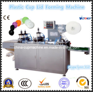 CE Flatbed Plastic Cup Lid Forming Machine