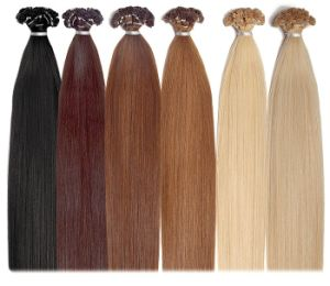 Double Drawn European Virgin Remy Keratin Nail Pre-Bonded Human Hair Extension pictures & photos