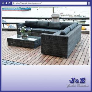 Outdoor Patio Wicker Furniture, Garden Rattan Sofa Set (J240) pictures & photos