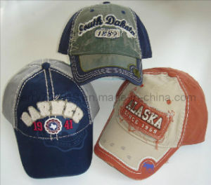 Fashional 100% Cotton Embroidery Cotton Baseball/Sports Cap pictures & photos