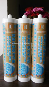 Silver Stainless Steel Silicone Sealant pictures & photos