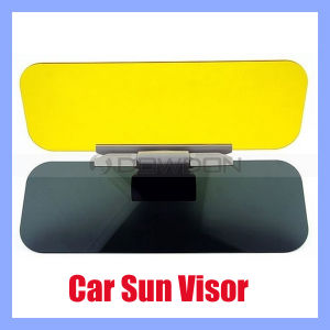 Car Sun Visor/Clip Sunshade Goggles Cover Day and Night Anti-Dazzle Mirror (SV-001) pictures & photos