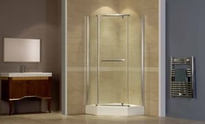 Caml 1000*1000 Diamond Pivot Shower Enclosure/Shower Door/Shower Room (CPT301)