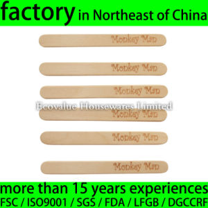 114X10X2mm Wooden Ice Cream Stick