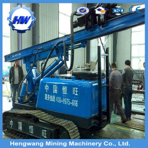 4m Depth Crawler Type Pressure Pile Driver Vibration Piling Machine pictures & photos