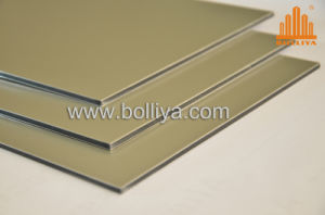 Metal Ceiling Louver/Zinc Alloy Composition/Mt-2828 Champagne Silver pictures & photos