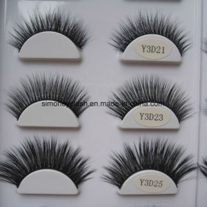 Private Label Natural Hair 3D Faux Mink Eyelashes pictures & photos