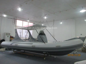 Liya Rib Boat 6.2m Military Hypalon Rigid Inflatable Boat pictures & photos
