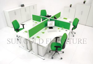 Practical Office Partition, Green Office Partition Modern Furniture (SZ-WS53) pictures & photos