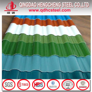 Prepainted Galvanized Corrugated Steel Roof Sheet Colorful Corrugated Sheet pictures & photos