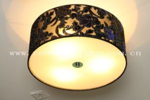 Modern Elegant Carving Flower Shade Ceiling Light pictures & photos