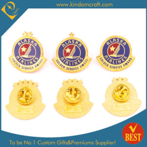 China Custom Gold Plating Alaska Award Police Badge for Promotion pictures & photos
