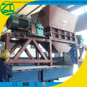 Rubber Crushing System Used Tire Shredder pictures & photos