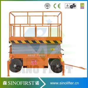 Height Extendable Platform Mobile Scissor Lift pictures & photos