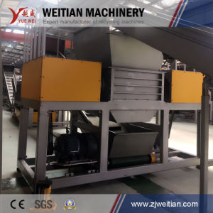 OEM Accepted Plastic/Wood/Tire/Animal Bone/Scrap Metal/Foam/Municipal Solid Waste Crusher Shredder Factory pictures & photos
