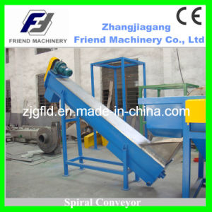 PP PE Film Recycling Spiral Conveyor pictures & photos