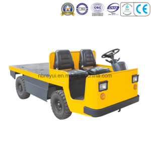4 Wheels Platform Electric Tractor Truck pictures & photos