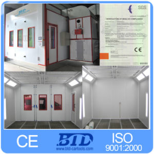 Used Auto Spray Booth/Auto Paint Baking Room with CE, German Technology pictures & photos