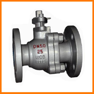 ANSI and DIN Cast Steel Ball Valve pictures & photos