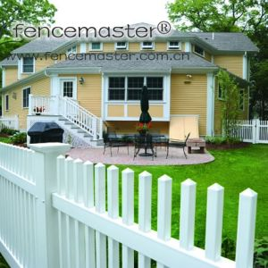 Square Picket Fence with 10%DuPont pictures & photos