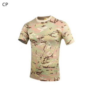 Outdoor Hunting Sport Combat Bdu Camouflage Tactical T-Shirt Cl34-0067 pictures & photos