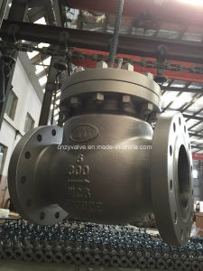API600 A216 Wcb Class300 Swing Check Valve (H44Y-300LB-6) pictures & photos