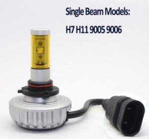 3000lm H4 Hi/Low Beam CREE LED Car Headlight pictures & photos