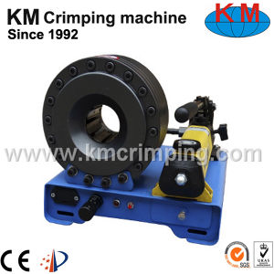 Portable Hand Hydraulic Hose Crimper Km-92s-a pictures & photos