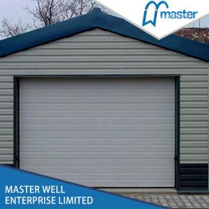 Remote Control Sectional Garage Door with Motor / Automatic Garage Door Panel Price Lows / Garage Doors with Pedestrian Door pictures & photos