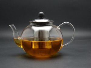 1200ml, Glass Tea Pot with Infuser, High Borosilicate Glass Tea Pot (GT-013)