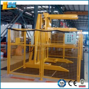 Industrial Manufacturing Material Handling Stationary Pallet Inverter for Forklift Attachment