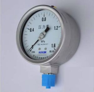 Cyy Energy Brand High Quality Pressure Gauges pictures & photos