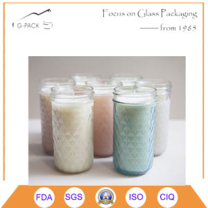 China Factory Whole Sale Glass Mason Jar Candles, Candle Holders pictures & photos